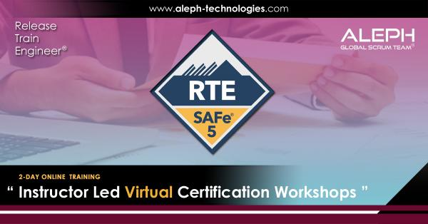 Release Train Engineer |SAFe 5.0 | Virtual Instructor  |Aleph Global Scrum Team™