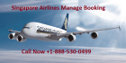 Singapore airlines manage booking Seats, Flights and Reservations