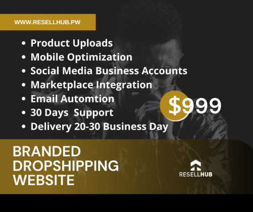 Branded Dropshipping Store in Your Niche To Boost Authority.