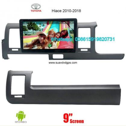 Toyota Hiace Audio Radio Car Android WiFi GPS Camera Navigation