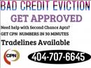 404-707-6645 evictions bad credit second Chance apartment get approved $75 CPN number