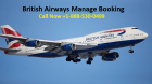 How to Book flight with British Airways Manage Booking