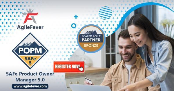 SAFe Product Owner Manager 5.0 | Online Certification | Agile Fever |