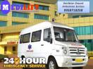 Get Day and Night Ground Ambulance in Varanasi by Medilift