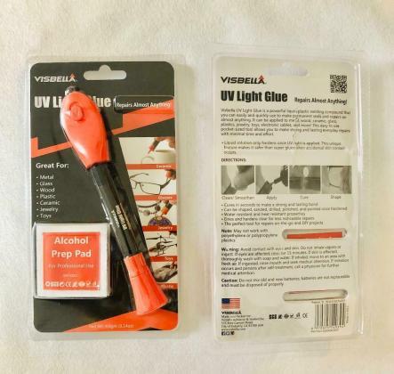 Visbella QuickFixLiquid Plastic Welding UV Light Repair Pen Glue