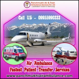 Choose Exceptional Air and Train Ambulance Service in Srinagar at Justified Cost