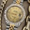 Mens rolex diamond watch