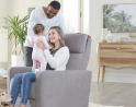 Premium Quality Nursery Glider Recliner | Nurture&