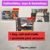 We Buy & Sell Collectibles, Toys and Gameboys