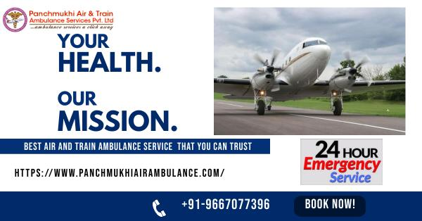 Avail the Safest Air Ambulance Service in Visakhapatnam by Panchmukhi