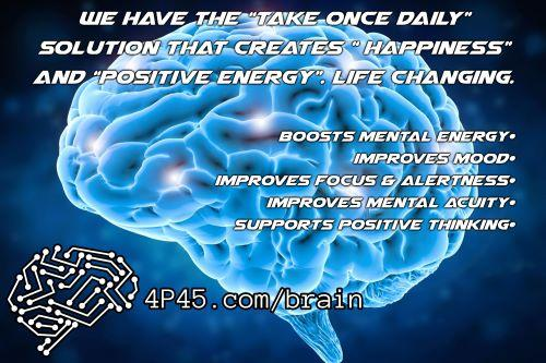"""Do you want """"Brain Food""""? This product enhances brain function and helps with your mood."""