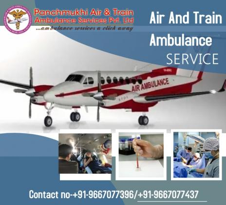 Hire the Splendid Charter Air Ambulance Service in Jodhpur by Panchmukhi