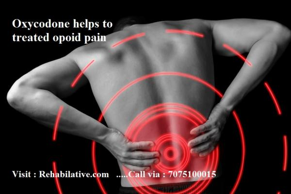 Oxycodone: Rid from pain