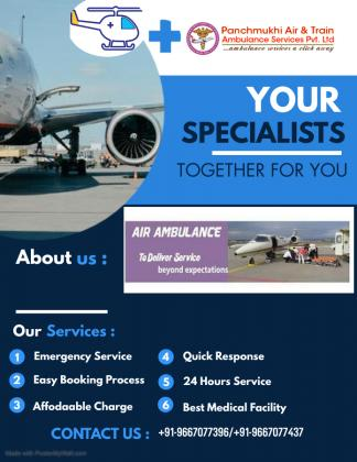 Select the Safest Air Ambulance Service in Madurai with Responsible Medical Team