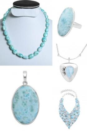 Shop Blue Larimar Stone Jewelry