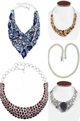 Sterling Silver Statement Necklaces For Women