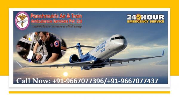 Take Foremost Air Ambulance Service in Durgapur with Remarkable Amenities