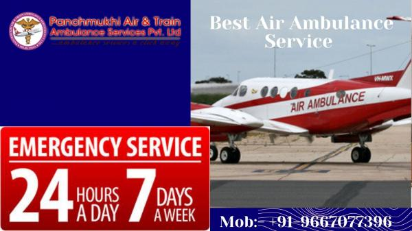 Take the Safe Air Ambulance Service in Surat with Compulsory Medical Care