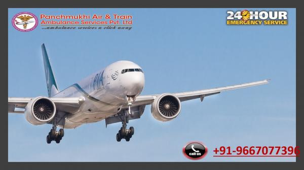 Utilize Dominant Air Ambulance Service in Bhavnagar with Medical Group