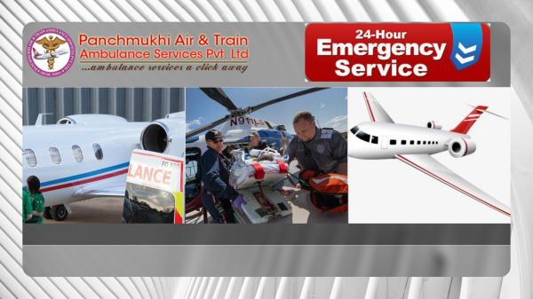 Utilize World Protuberant Air Ambulance Service in Kanpur with Life-Sustaining System