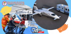 Always Get the Best Air Ambulance Service in Agra by Panchmukhi