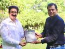 Sandeep Marwah Honoured for His Contribution to Media