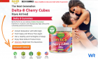 Smilz Delta 8 Gummies Cherry Cubes Formula