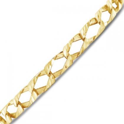 Exotic Diamonds mens gold bracelet at cheap price