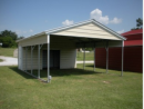 Metal Shelters with Vertical Roofs for Sale in North Carolina
