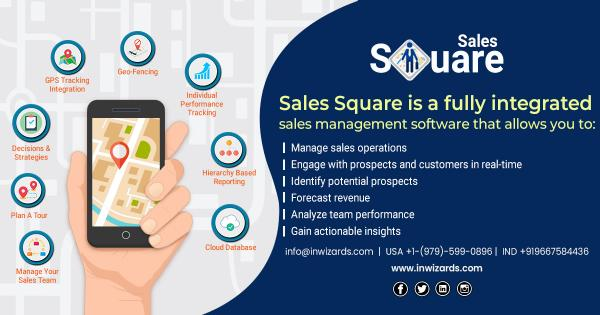 Best Sales Tracking Management System Software - Inwizards Software