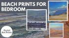 Buy Beach Prints For Bedroom At Pastel Art Prints Online Store