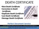 Death certificate| RE-ISSUE & OLD CASE  | MCD| south Delhi|