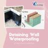 Retaining Wall Waterproofing Contractors