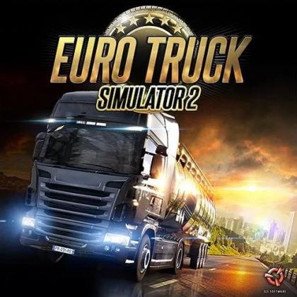 Euro Truck Simulator 2 with DLC Computer Game.