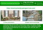Hardscape with retaining walls Supplier