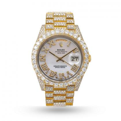 Mens Rolex Diamond Watch at an Affordable Cost - Exotic Diamonds