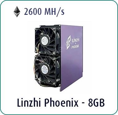 Linzhi Phoenix 2600MH/s - 8GB